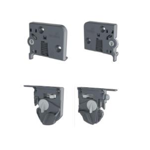 Quadro V6/500mm Silent System - 4D - Belastbaar tot 30kg<br />Per paar