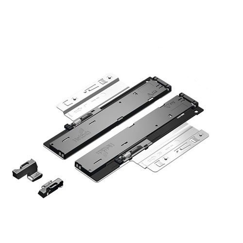 Quadro V6/580mm Push to Open - 4D - Belastbaar tot 30kg<br />Per paar