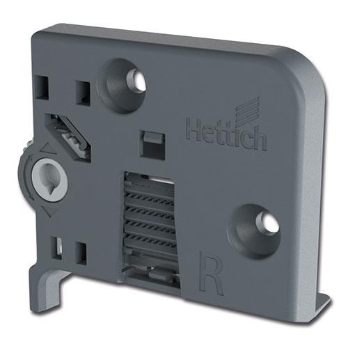 Quadro V6/600mm Push to Open - 4D - Belastbaar tot 30kg<br />Per paar