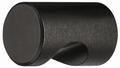Meubelknop zwart - aluminium - met handgreep - Ø 20mm