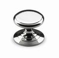 Knop Sala - Glanzend verchroomd - Diameter 25 mm