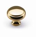Knop Solva - Messing gepolijst - Diameter 30 mm
