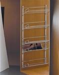 Schoenenrek - frame met 5 rekken