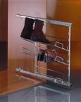 Uittrekbaar schoenenrek - frame met 3 rekken