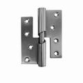 RVS oploopscharnier voor houten deuren 101x76mm - DR 2/4