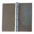 RVS 304 scharnier met vaste pen 50x50mm / zonder gaten
