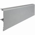 Afdeklijst aluminium zilver - 400cm