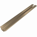 Rail voor boven en onder brons - 300cm