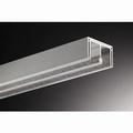 Glasschuifdeurbeslag bovenrail - 500cm