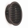 Klemrooster universeel 50/43mm - zwart - gatmaat 43mm