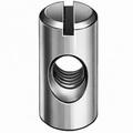 Dwarsmoer 10x14 - M6 - staal verzinkt - A=5mm
