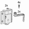 Set beslag voor een schuine binnendeur - Junior 2S - 50kg