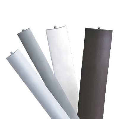 Afwerkrand standaard met veer - PVC