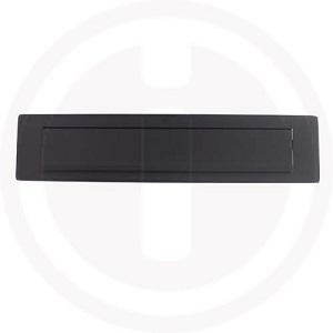 Briefplaten zwart