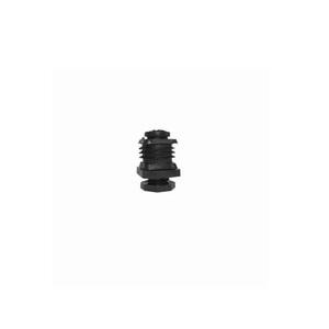 Insteekdoppen rechthoek verstelbaar zwart